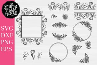 Hand Drawn Floral Design Bundle Graphic By Justina Tracy