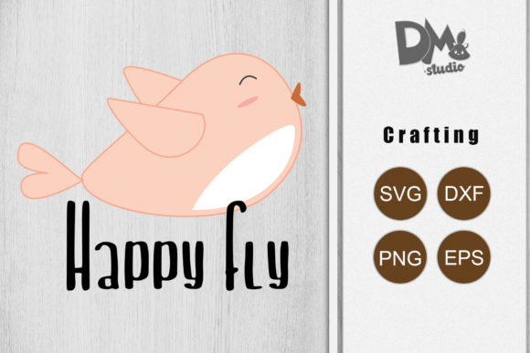 Print on Demand: Happy Fly Graphic Crafts By Sharon ( DmStudio )
