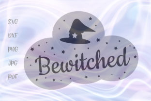 Happy Halloween Bewitched Witch Hat Svg Graphic By Digitals By