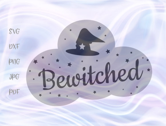Download Free Happy Halloween Bewitched Witch Hat Svg Graphic By Digitals By for Cricut Explore, Silhouette and other cutting machines.