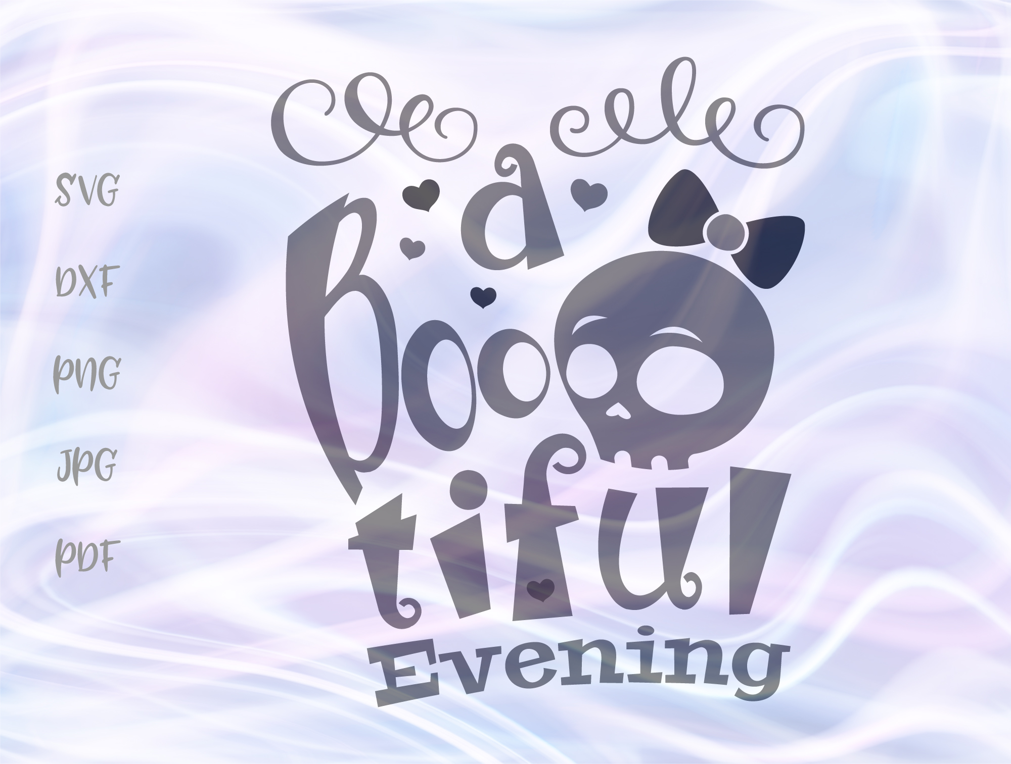 Happy Halloween Bootiful Evening Graphic By Digitals By Hanna