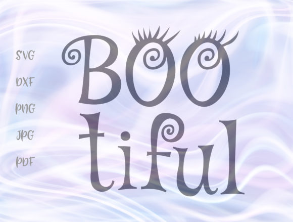 Download Free 1 Boo Tiful Designs Graphics for Cricut Explore, Silhouette and other cutting machines.