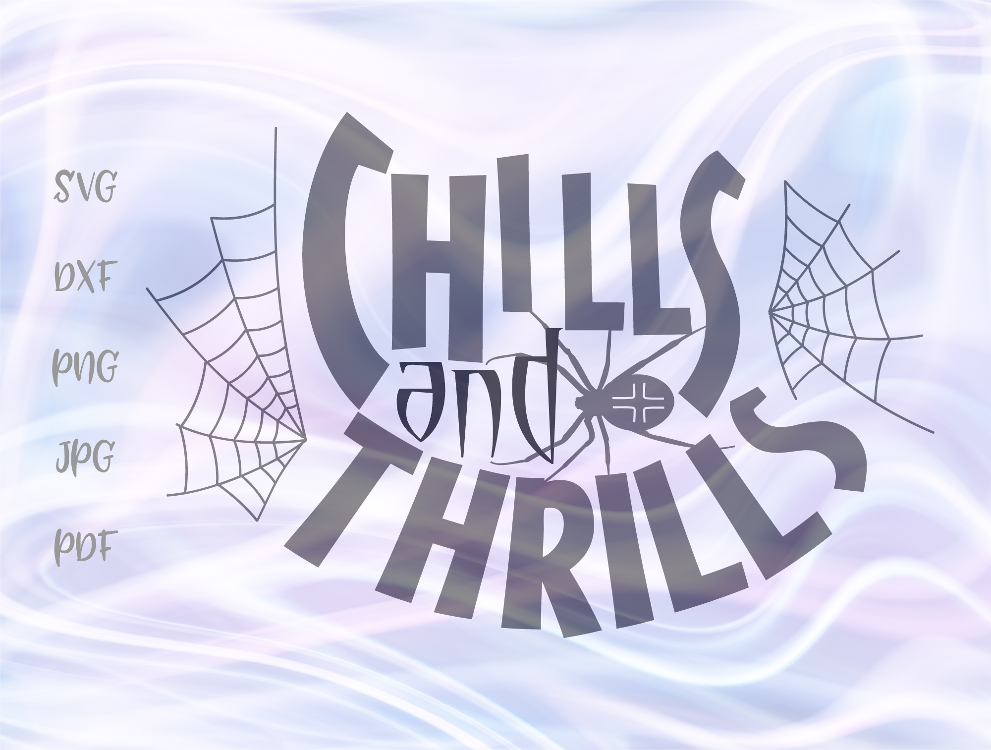 Happy Halloween Chills And Thrills Graphic By Digitals By Hanna