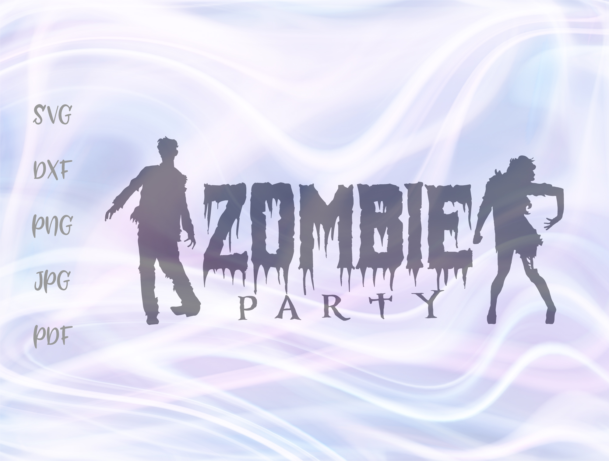 Happy Halloween Zombie Party Graphic By Digitals By Hanna