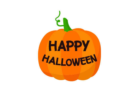 Happy Halloween Carved Into Pumpkin Svg Cut File By Creative Fabrica Crafts Creative Fabrica