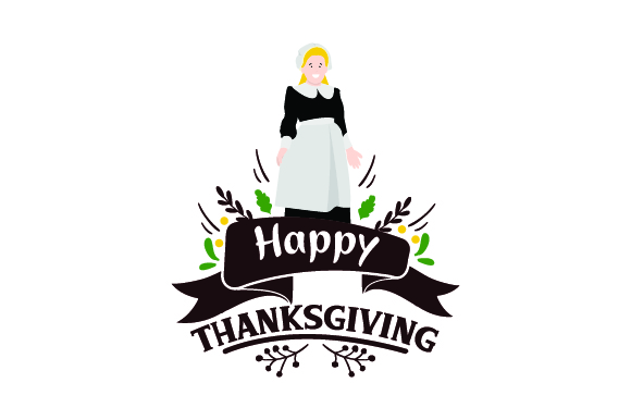 Download Free Happy Thanksgiving Pilgrim Svg Cut File By Creative Fabrica for Cricut Explore, Silhouette and other cutting machines.
