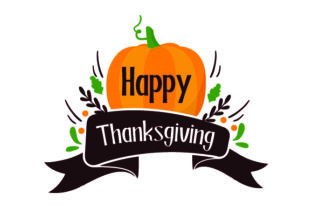 Happy Thanksgiving - Pumpkin Thanksgiving Craft Cut File By Creative Fabrica Crafts