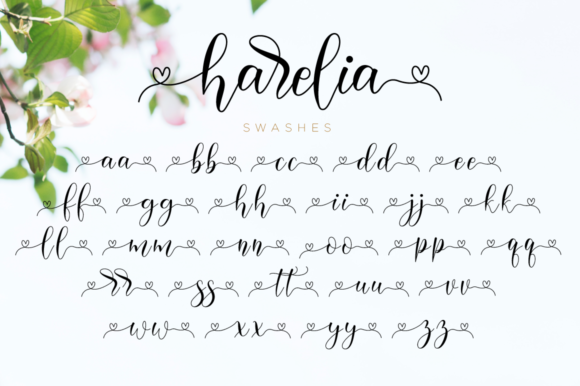Print on Demand: Harelia Script Script & Handwritten Font By NissaStudio - Image 12