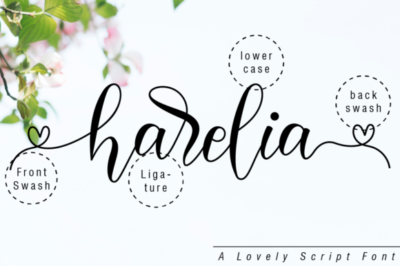 Print on Demand: Harelia Script Script & Handwritten Font By NissaStudio - Image 10