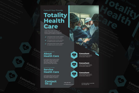 Healthcare Flyer Templates Graphic Print Templates By qohhaarqhaz