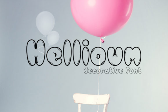 Hellioum Display Font By gumacreative