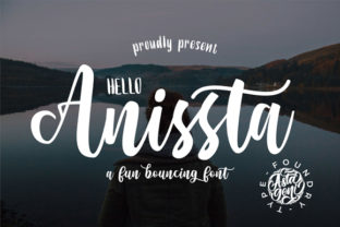 Print on Demand: Hello Anissta Script & Handwritten Font By astageni.std