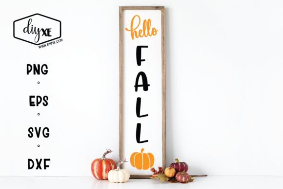 Hello Fall Graphic Crafts By Sheryl Holst