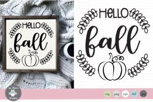 Hello Fall Graphic By thejaemarie