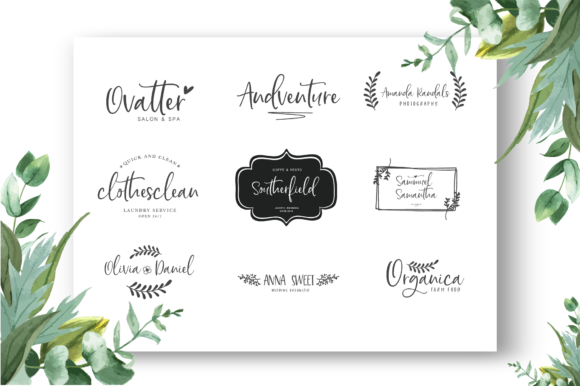 Print on Demand: Hello Sunday Script & Handwritten Font By silverdav - Image 7