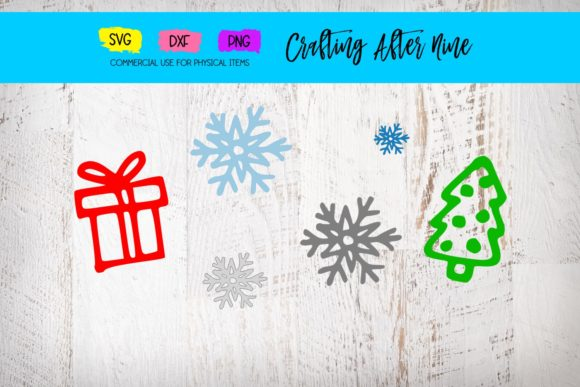 Print on Demand: Holiday Symbols Graphic Crafts By Crafting After Nine