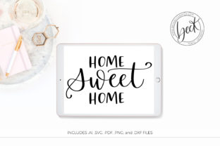 Download Free Home Sweet Home Graphic By Beckmccormick Creative Fabrica for Cricut Explore, Silhouette and other cutting machines.