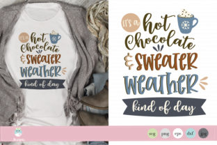 Hot Chocolate and Sweater Weather Graphic By thejaemarie