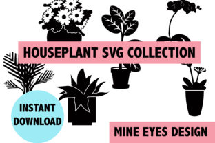 Houseplant SVG Collection Graphic By Mine Eyes Design