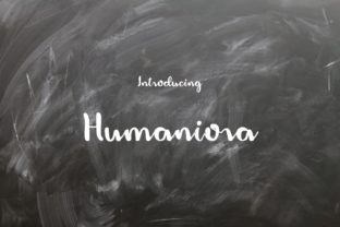 Print on Demand: Humaniora Script & Handwritten Font By enway
