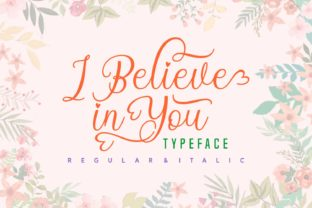 I Believe in You Font By Rifki (7ntypes)