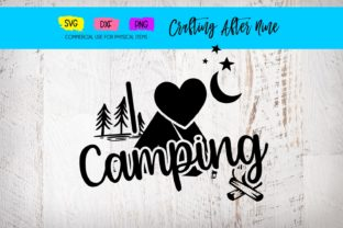 I Love Camping Grafik Von Crafting After Nine Creative Fabrica