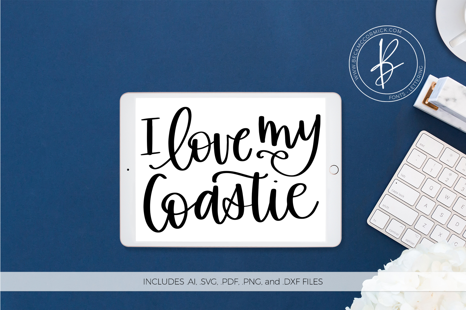 Download Free I Love My Marine Graphic By Beckmccormick Creative Fabrica for Cricut Explore, Silhouette and other cutting machines.