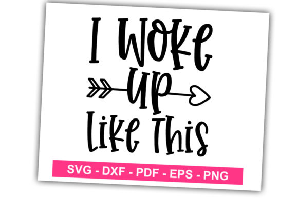 Print on Demand: I Work Up Like This Graphic Print Templates By svgbundle.net