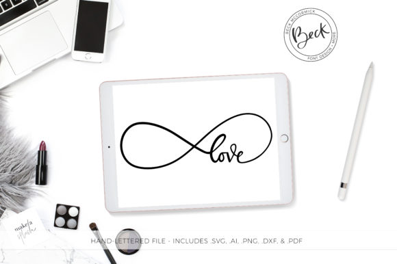 Print on Demand: Infinity Love Graphic Crafts By BeckMcCormick
