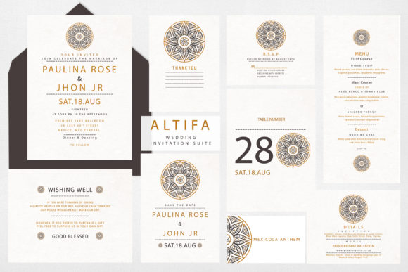 Invitation Altifa Graphic Graphic Templates By OMvavadharahap