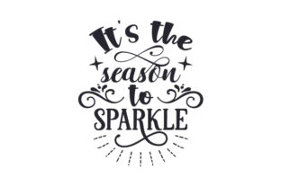 It's the Season to Sparkle Craft Design By Creative Fabrica Crafts