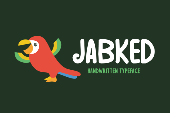 Print on Demand: Jabked Display Font By Shattered Notion