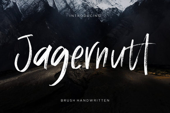 Print on Demand: Jagernutt Script & Handwritten Font By CreatypeStudio