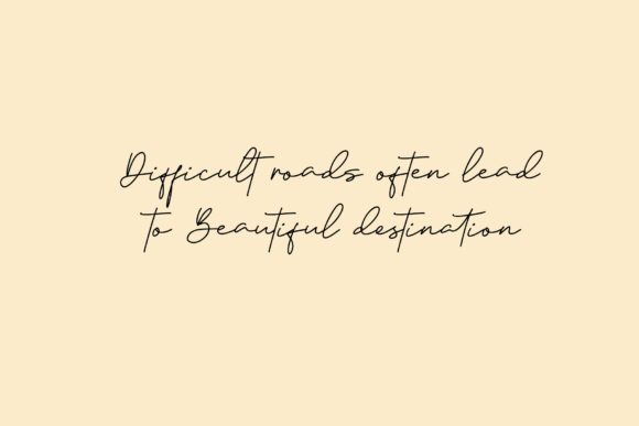 Print on Demand: Janethville Script & Handwritten Font By dmletter31 - Image 4