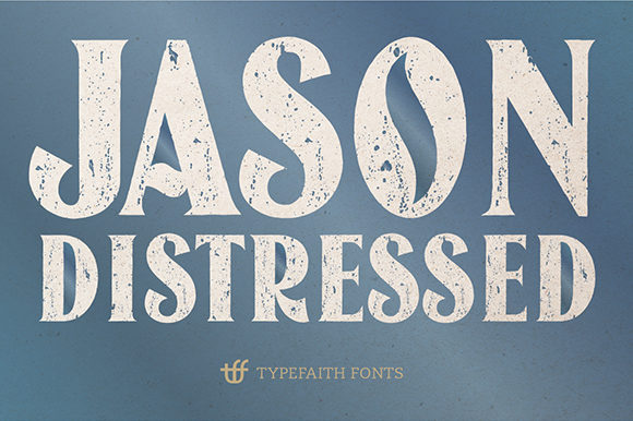 Print on Demand: Jason Capitals Display Font By TypeFaithFonts - Image 4