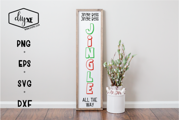 Jingle All the Way Graphic By Sheryl Holst