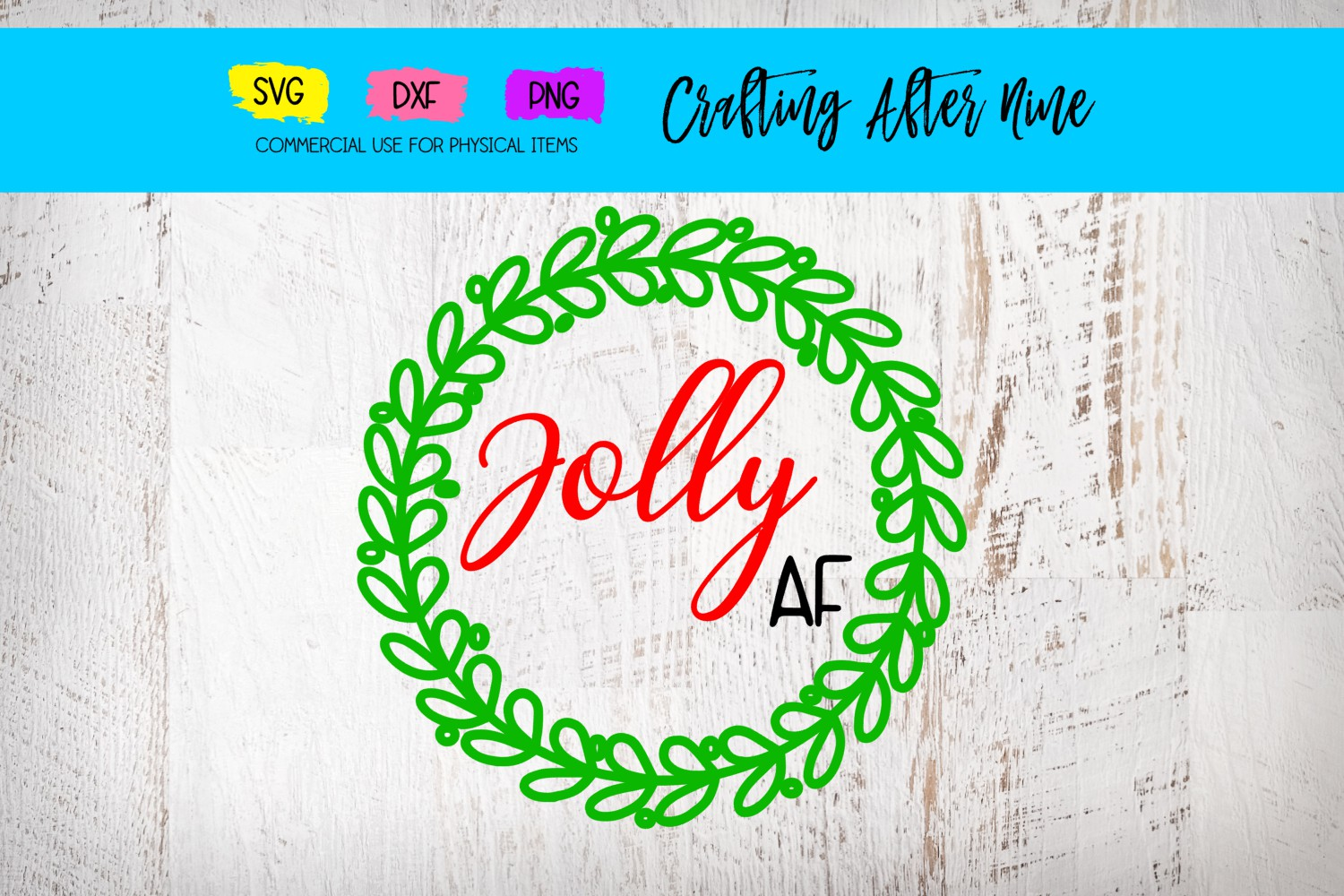 Download Free Jolly Af Graphic By Crafting After Nine Creative Fabrica for Cricut Explore, Silhouette and other cutting machines.