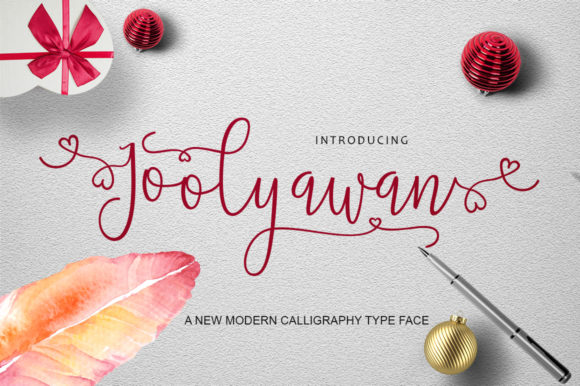 Print on Demand: Joolyawan Script & Handwritten Font By Microcreative