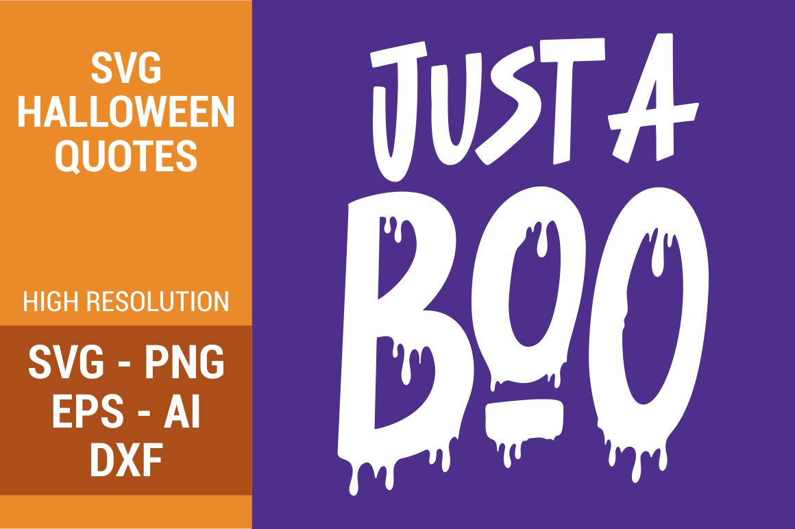 Download Free Just A Boo Grafico Por Kreasari Creative Fabrica for Cricut Explore, Silhouette and other cutting machines.