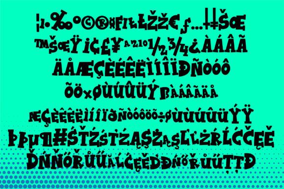 Kaboing Font By Illustration Ink Image 3