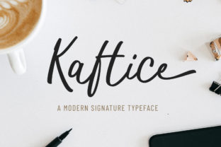 Kaftice Font By locomotype