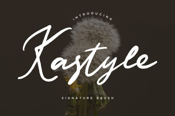 Print on Demand: Kastyle Script & Handwritten Font By CreatypeStudio