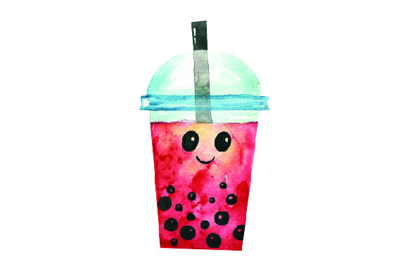 Download Free Kawaii Bubble Tea Red Svg Cut File By Creative Fabrica Crafts for Cricut Explore, Silhouette and other cutting machines.