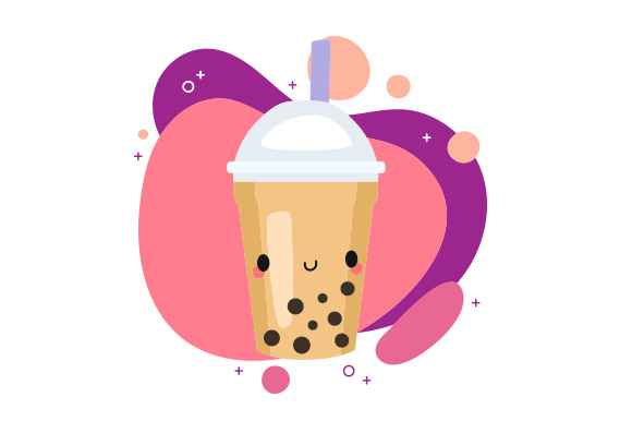 Download Free Kawaii Bubble Tea Svg Cut File By Creative Fabrica Crafts for Cricut Explore, Silhouette and other cutting machines.