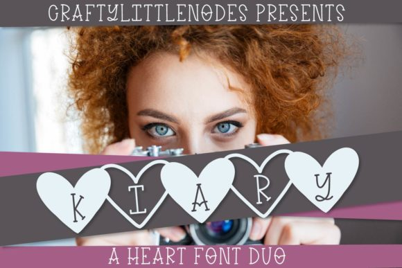 Print on Demand: Kiary Display Schriftarten von Justina Tracy