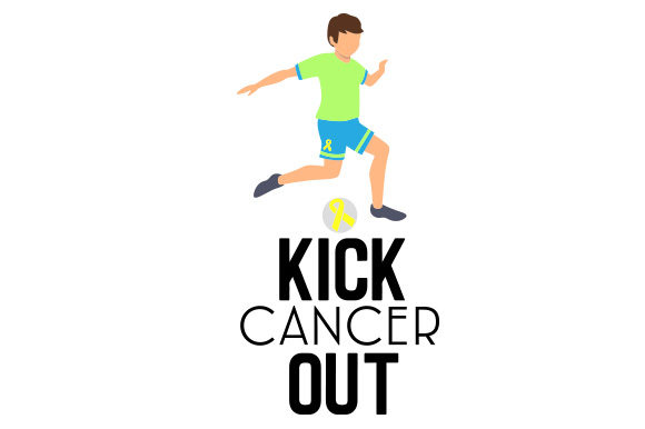 Kick Cancer out Craft Design By Creative Fabrica Crafts