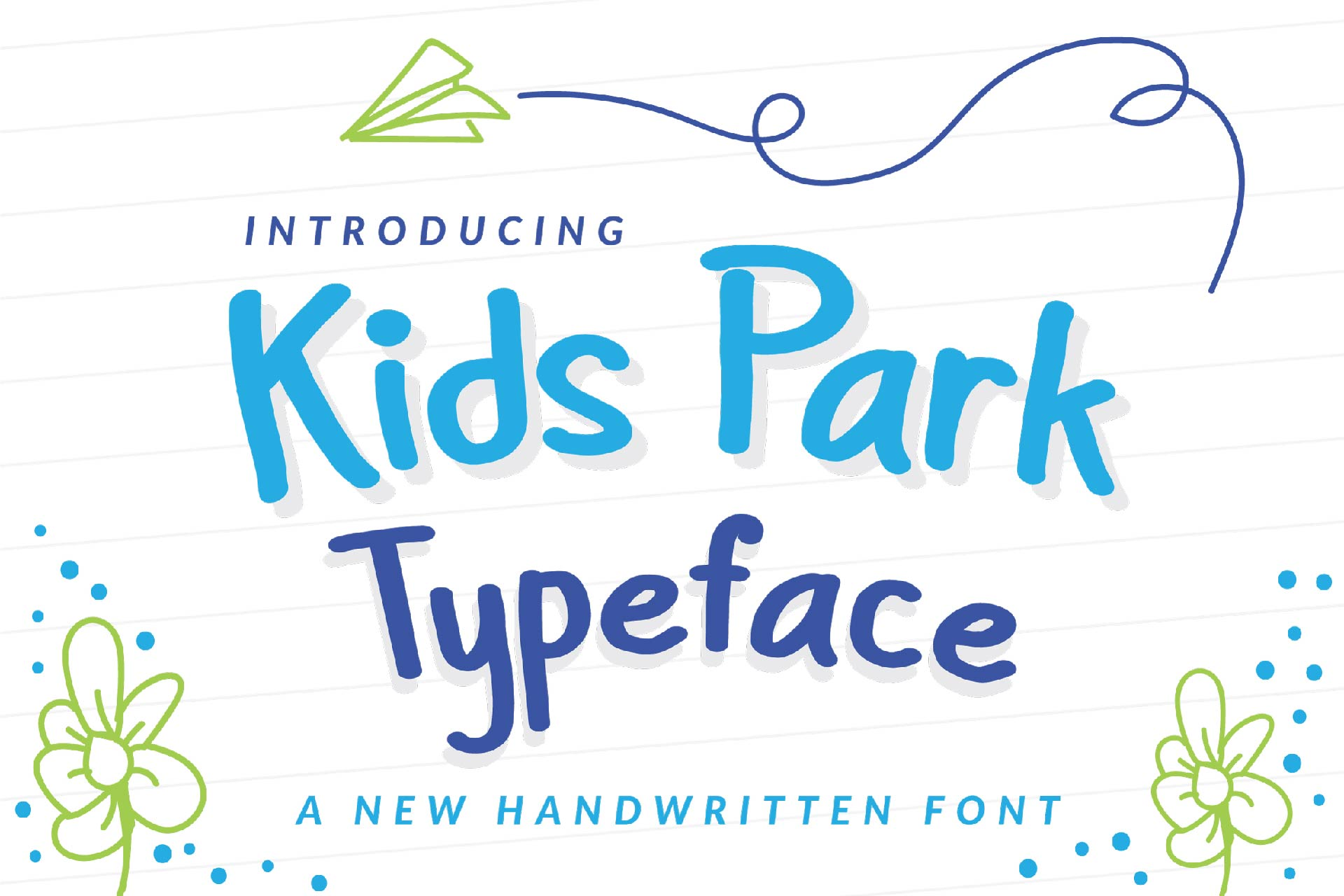 Download Free Kids Park Font By Ian Mikraz Creative Fabrica for Cricut Explore, Silhouette and other cutting machines.