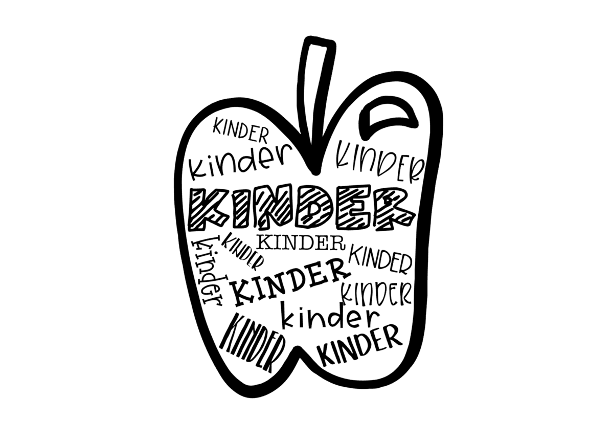 Download Free Kinder Apple Grafico Por Thesmallhouseshop Creative Fabrica for Cricut Explore, Silhouette and other cutting machines.
