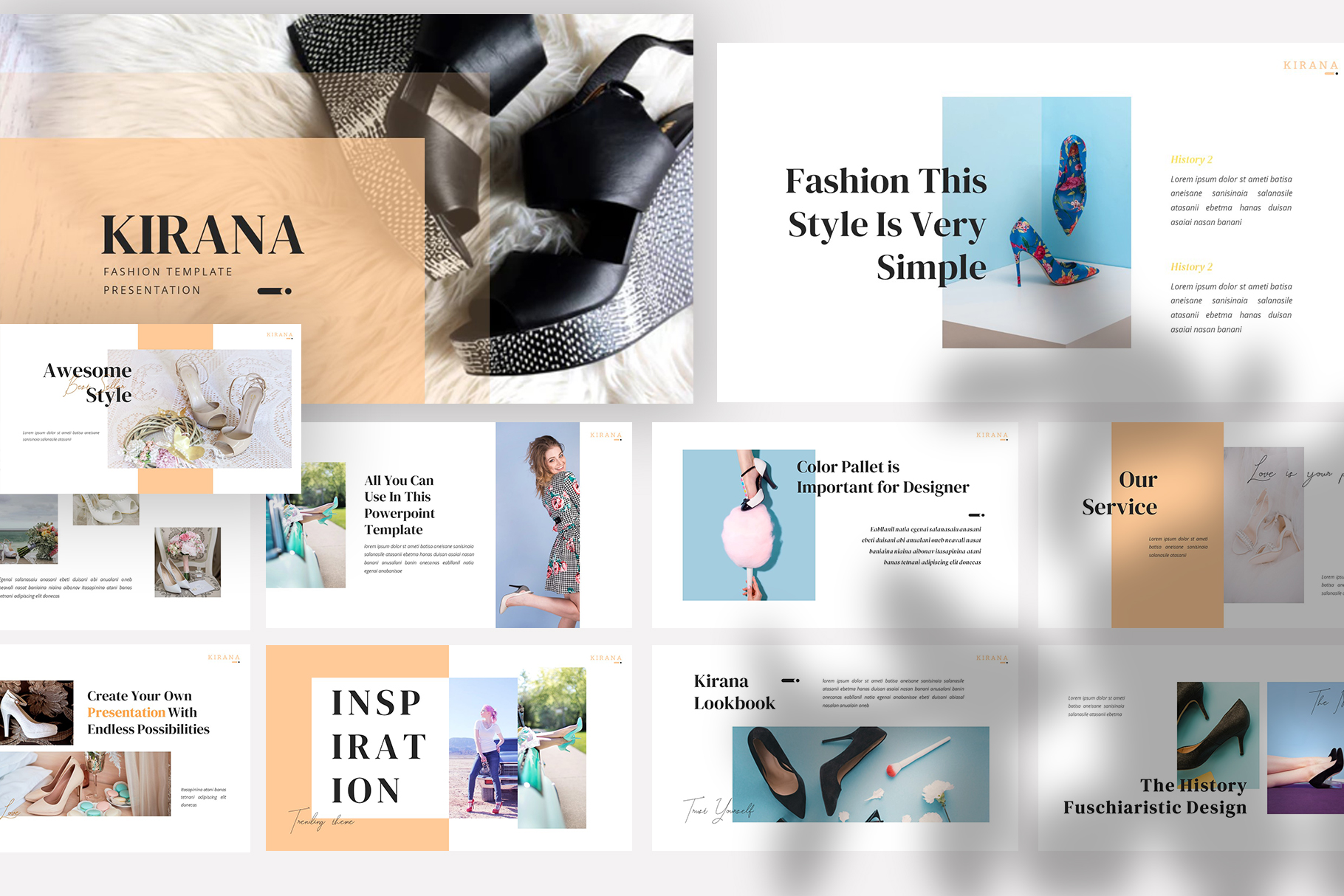Download Free Kirana Powerpoint Presentation Graphic By Slidesignus Creative for Cricut Explore, Silhouette and other cutting machines.