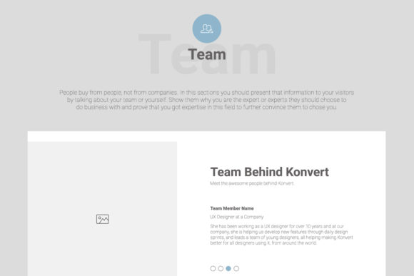 Konvert Landing Page Builder Graphic UX and UI Kits By Web Donut - Image 12